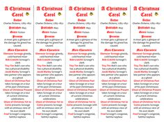 A worksheet to revise the ghosts in A Christmas Carol. Analyse the description… | Teaching | A ...