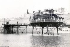 Pictures of Daddy Long Legs Railway Brighton and Rottingdean Seashore Electric Railway 1896 Brighton Sea, Brighton And Hove, Steam Generator, Go Car, Cool Photos, Interesting Photos, Daddy Long, Old Postcards, Long Legs