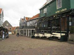 Volendam Village Street  Netherlands