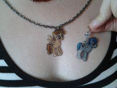 custom madetoorder OC MLP pony pendant by cocowboysandpeacocks, $15.00