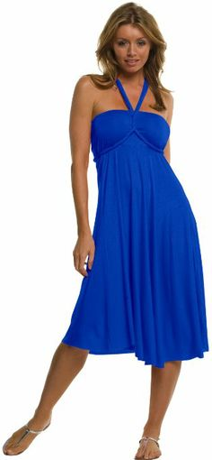 Black Friday 2014 An Elan Usa Beautiful Sexy Summer Convertible Dress/Skirt (Small, Royal) from Elan Cyber Monday Bridesmaid Dresses Under 100, Designer Bridesmaid Dresses, Bridesmaids, Black Friday Dresses, Little White Dresses, Criss Cross, Vow To Be Chic, Dress Rental, Thing 1