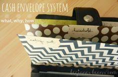Beginner Beans: Cash Envelope System   our cash categories