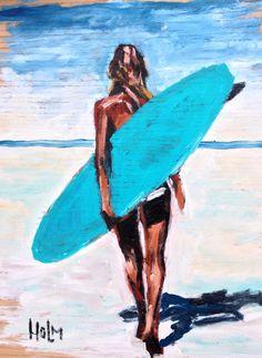 Long walk # surf art
