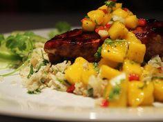 Key West Chicken with Mango Salsa