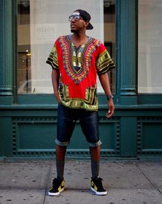 African Prints in Fashion: Do you Dashiki?