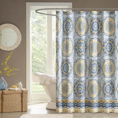 Madison Park Moraga Shower Curtain - Overstock Shopping - Great Deals on Madison Park Shower Curtains