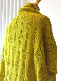 Dionne Shawl Knit Pattern // Jeanette Sloan