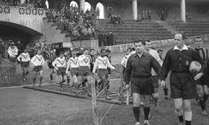 Le 3 août 1950, le Docteur TRILLAT MM. GROSLEVIN, VITALIS, MARCEAU, CARREL, DAURENSAN et MAILLET créent l'Olympique de Lyon et du Rhône