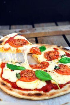 Пицца Маргарита, пошаговый фото рецепт, кулинарный блог andychef.ru Я-мии!