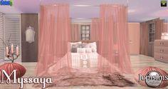 "SIMS 4 ""MYSSAYA"" BEDROOM SET //"