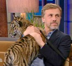 Christoph Waltz (I'm going to allow this one...#notacat)