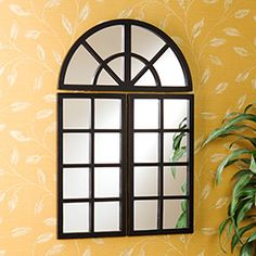 Dining wall  http://www.amazon.com/SEI-3-Piece-Windowpane-Mirror-Set/product-reviews/B004BSF84A/ref=dp_top_cm_cr_acr_txt?ie=UTF8=1