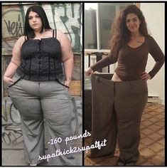 160lb weight loss transformation!