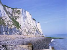 St. Margaret's at Cliffe, White Cliffs of Dover, Kent ...