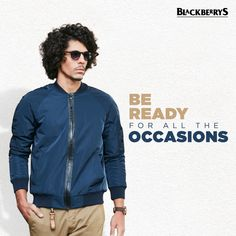 Seize the day and all that it throws at you with unmatchable style from #Blackberrys.