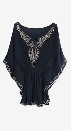 butterfly sleeve top in boho bohemian hippie style. For more follow www.pinterest.com/ninayay and stay positively #pinspired #pinspire @ninayay