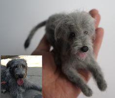 #irishwolfhound #janetsneedlefelting #needlefelteddog #petportrait