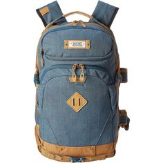 Dakine Team Heli Backpack Pro 20L Backpack Bags, Brown (82 CAD) ❤ liked on Polyvore featuring bags, backpacks, brown, laptop backpacks, brown laptop backpack, top handle bag, laptop rucksack and vertical laptop bag