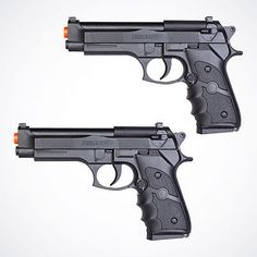 nice NEW 2 Lot Airsoft Spring Gun Pistol Black Beretta Air Soft Toy Hand Guns w BBs - For Sale Check more at http://shipperscentral.com/wp/product/new-2-lot-airsoft-spring-gun-pistol-black-beretta-air-soft-toy-hand-guns-w-bbs-for-sale/