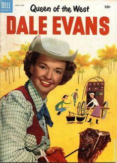 Dale Evans vintage Dell comic