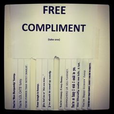 Day 52- today I'm grateful for people who do nice things and say nice things! A little compliment goes a long way!