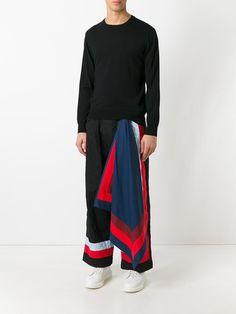Craig Green pantalon ample à empiècement oversize