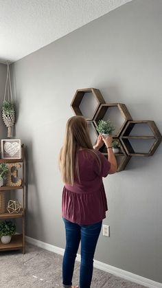 Diy Crafts For Home Decor, Diy Wall Decor, Diy Bedroom Decor, Home Decor Ideas, Small Wall Decor, Wall Decor Design, Unique Wall Decor, Modern Decor, Living Room Decor Curtains