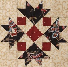 2012 Mystery Quilt from American Patchwork & Quilting: Block 8