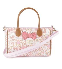 For a romantic flourish add this petite Hello Kitty shoulder bag to your ensemble.