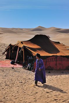 the Sahara in Morocco with the Touareg - completely DIFFERENT story inspiration but there it is