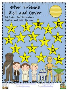 "Free ""Star Friends"" Roll and Cover"