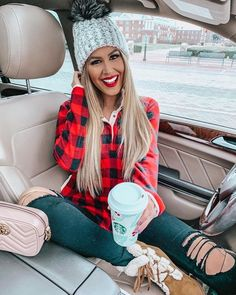 #WINTER #FASHION #CASUAL #CLOTHING #OUTFIT #IDEAS 30 Outfits, Fall Outfits, Cute Outfits, Fashion Outfits, Womens Fashion, Fashion Trends, Christmas Outfits For Women, Christmas Day Outfit, Plaid Outfits