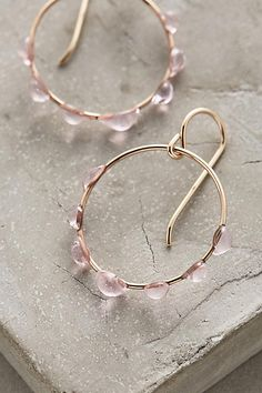 Deliquesce Hoops - anthropologie.com