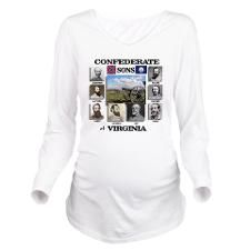 Confederate Sons of  Long Sleeve Maternity T-Shirt  http://www.cafepress.com/Civil_War_1861_to_1865  http://www.cafepress.com/CivilWar1861to1865Part2 									 http://www.cafepress.com/USCivilWarColoredApparel