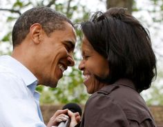 President Barack Obama (second degree) and First Lady Michele Obama (third degree)