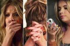Hanna Marin nails
