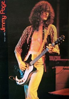 Jimmy Page rocks the stage with his Classic '59 Danelectro!