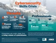 Cyber security skills crisis - too many threats, too few professionals