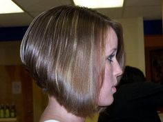 Layered Inverted Bob Haircut | By Susan L of ls issue - Moved from international td-7 brake shoes