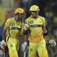 The Chennai Super Kings openers, S Badrinath and Faf du Plessis, put on 116 to set the base for a win over Pune Warriors