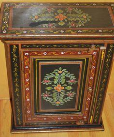 hungarian painted furniture