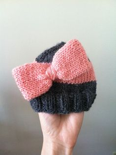 free knitting pattern for baby hat.