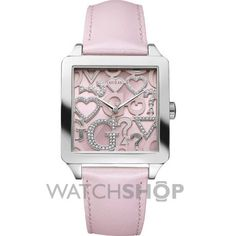 Ladies Guess Icon Squared Watch W80056L2