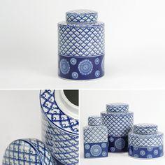 Pote Azulejo Círculos Cerâmica Diâmetro: 20 x 28 cm | A Loja do Gato Preto | #alojadogatopreto | #shoponline | referência 33566782