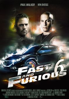 """Dom and his crew of professional criminals have retired around the world, but their inability to return home and living forever on the lam has left their lives incomplete. Hobbs asks Dom and Brian to help him take down an organization of lethally skilled mercenary drivers. In return, their crew will receive full pardons and be allowed to return home."" Find FAST & FURIOUS 6 in our catalog: http://highlandpark.bibliocommons.com/item/show/2300806035_fast_amp_furious_6"