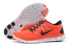 premium selection b571a 91235 Womens Nike Free 5.0 Running Shoes Total Crimson White Midnight Air Max  Sneakers, Sneakers Nike
