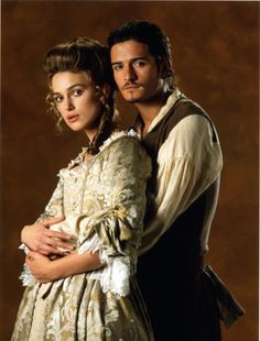 *ELIZABETH & WILL TURNER ~ Pirates of the Caribbean...in love