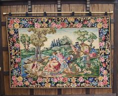 Dollhouse Hanging Tapestry Miniature Wall by WhimsyWooMiniatures