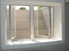 40 Nice Basement Windows Design Ideas – Page 4 of 40 - Keller Schlafzimmer New Homes, Basement Bedrooms, Egress Window, House, Home Remodeling, Basement Windows, Basement Decor, Modern Basement, Window Design