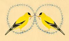 The Duo, Bird art